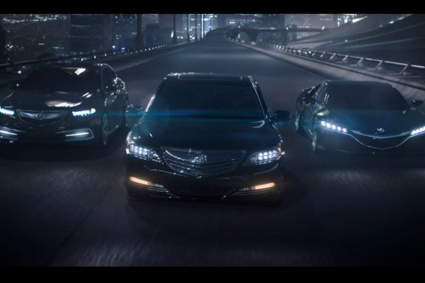 Acura Ad - Let The Race Begin