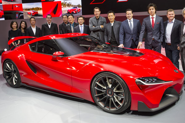 Toyota FT-1 2014 Concept