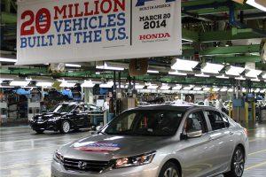 20 Millionth US Built Honda