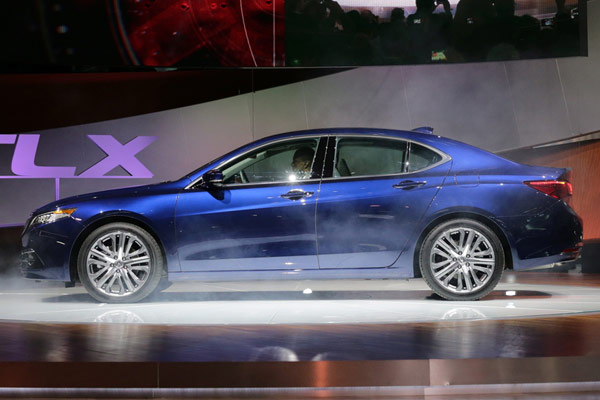 2015 Acura TLX at NYIAS
