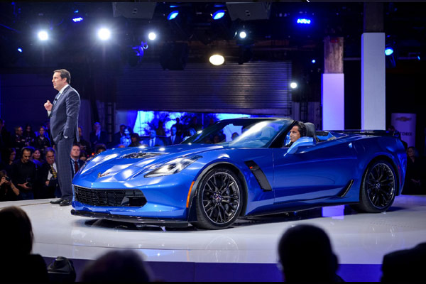 2015 Corvette Z06 Convertible Unveiled in NYC
