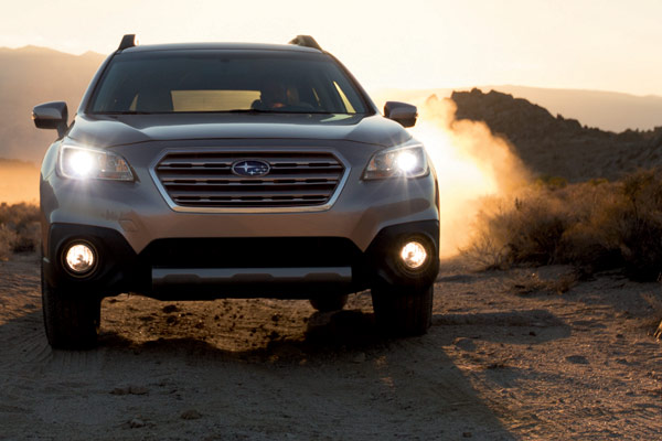2015 Suburu Outback Going Offroad