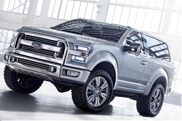 2016 Ford Bronco Rendering
