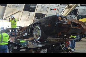 Corvette ZR1 Sinkhole