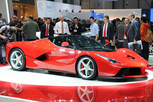 LaFerrari at the Geneva Motor Show 2013