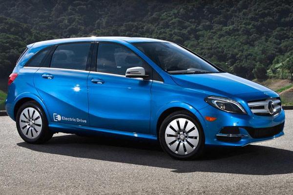 Mercedes B-Class Electric Car
