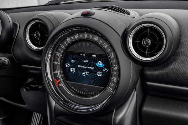 2015 Mini Cooper Countryman Gauges
