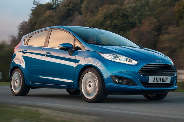 2014 Ford Fiesta Econetic  (Euro)