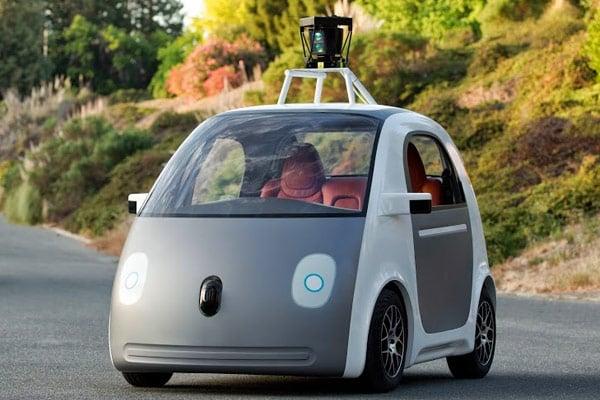 Google Self Driving Prototype (2014)
