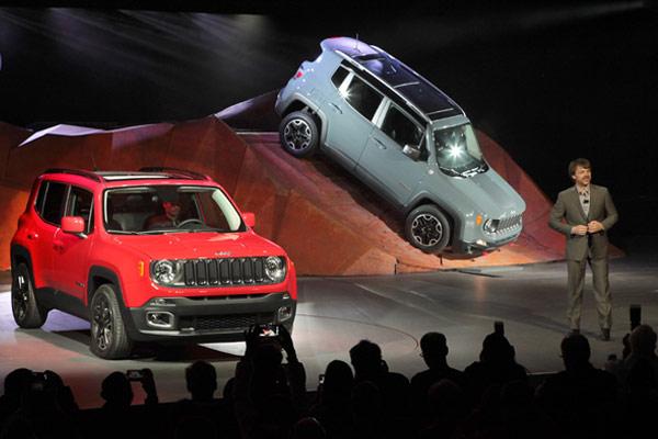 Jeep Display at NYIAS