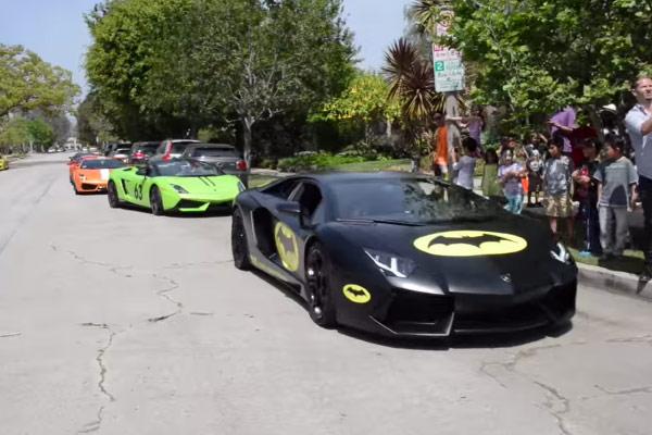 Lamborghini's Crash Kids Birthday