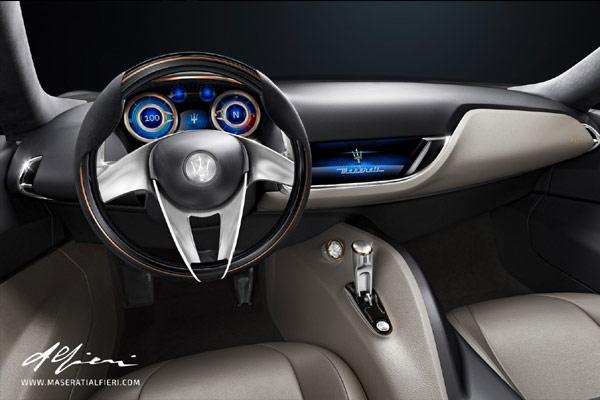 Maserati Alfieri Concept - Interior