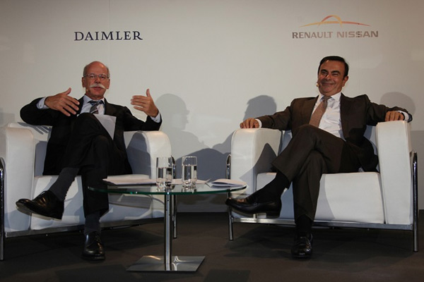 Daimler Renault Alliance Meeting