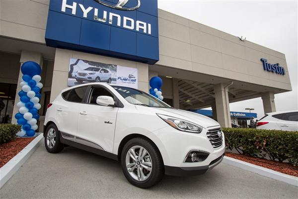 2015 Hyundai Tucson Fuel Cell Vehicle