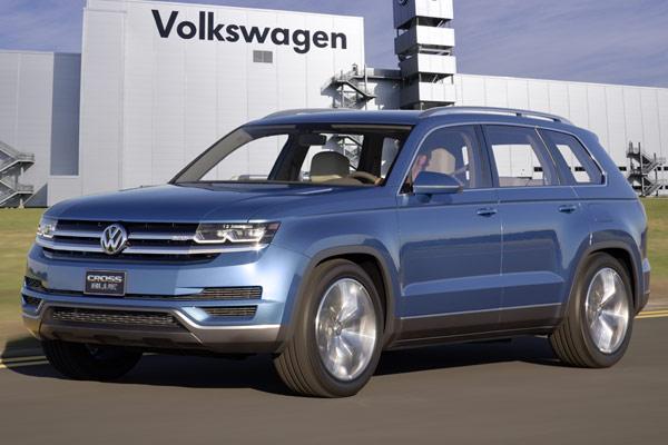 New Volkswagen Midsize SUV