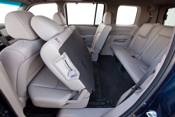 2015 Honda Pilot Third Row