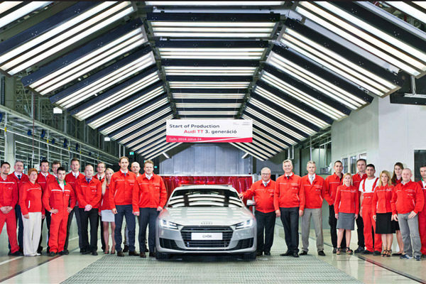 Audi TT Production Begins