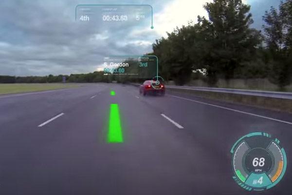 Jaguar Virtual Windshield