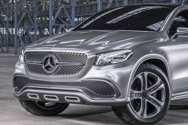 2015 Mercedes Benz Coupe SUV Concept