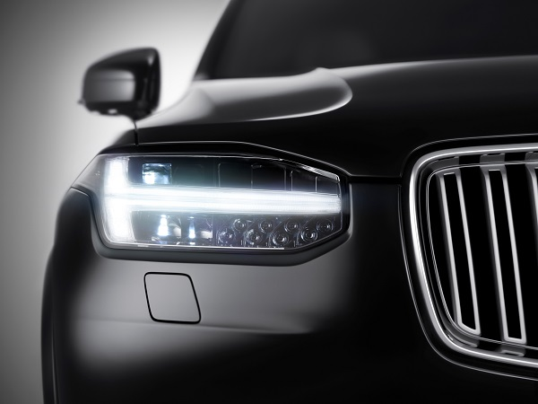 New XC90 Thor's Hammer Running Lights