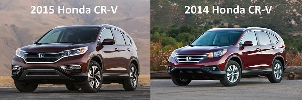 2015 CR-V vs 2014 CR-V
