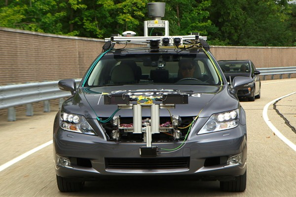 Toyota Advanced Active Safety Research Vehicle