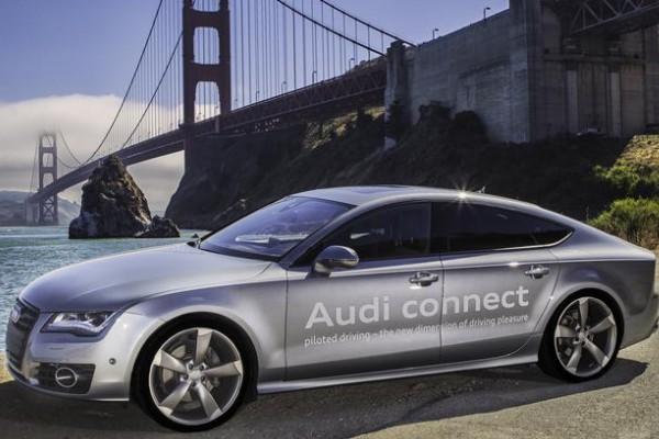 Audi A7 Traffic Jam Pilot prototype