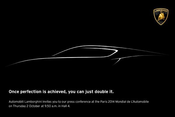 Lamborghini Paris Auto Show Teaser