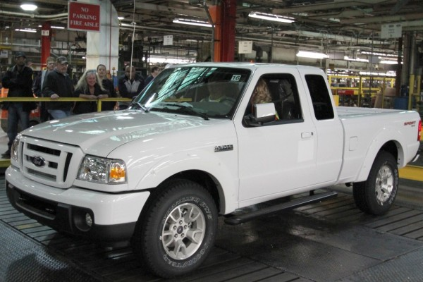 Final Ford Ranger to be assembled in North America
