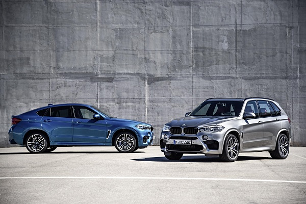 2015 BMW X6 M and X5 M
