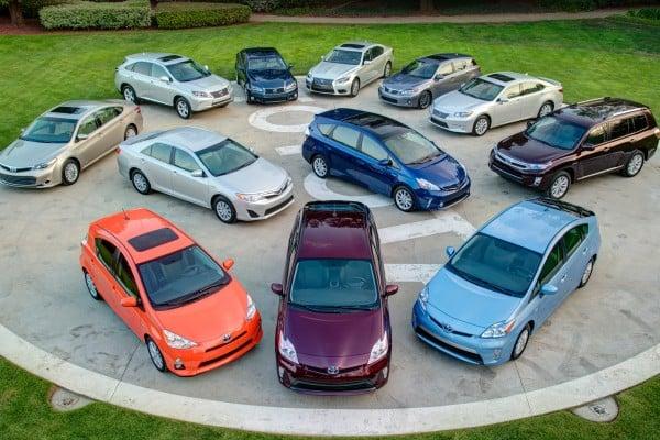 Toyota/Lexus hybrid 2014 models