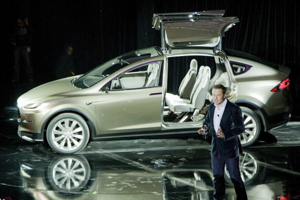 2012 Tesla Model X Concept