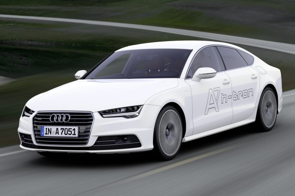 Audi A7 h-tron quattro demonstrator