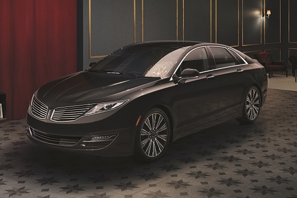 2015 Lincoln MKZ Black Label Center Stage Black Tie
