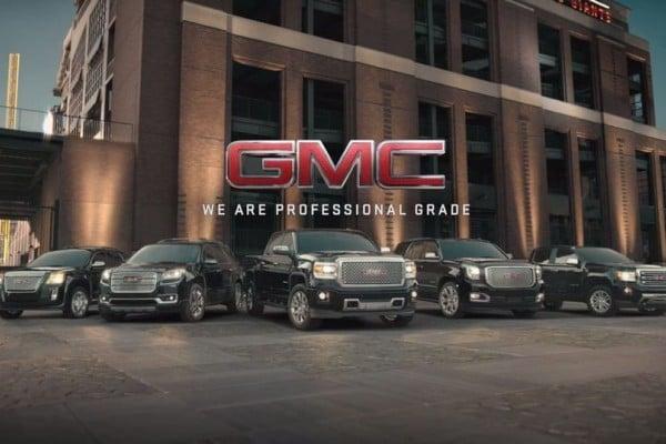 GMC model lineup