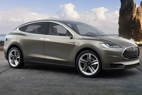 Tesla Model X teaser photo