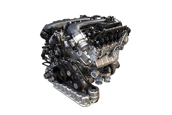 VW Group 6.0-Liter W-12 TSI Engine