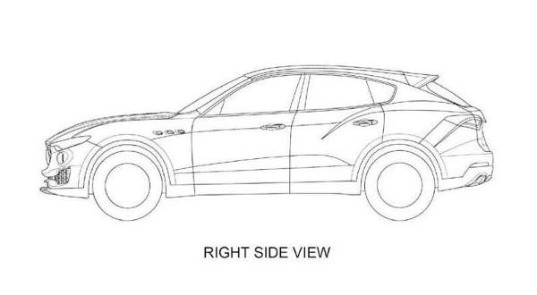 Maserati Levante Patent Images