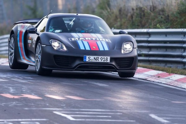 Porsche 918 Spyder on the Nurburgring