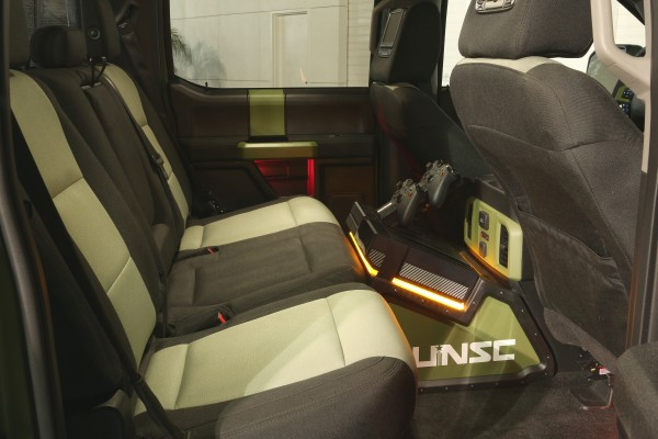 Ford F-150 Halo Sandcat interior