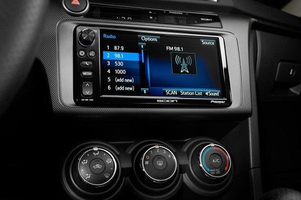 2016 Scion tC 7-inch audio System
