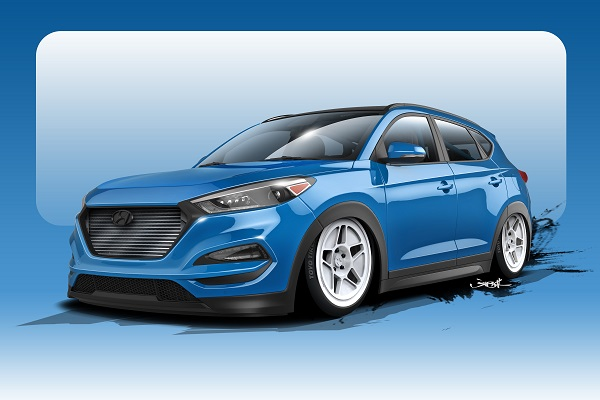 Bisimoto Engineering?s First CUV is the Most-Powerful Tucson Ever