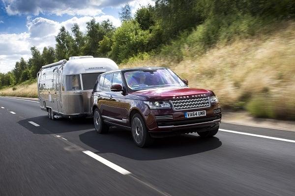 Land Rover Transparent Trailer Concept