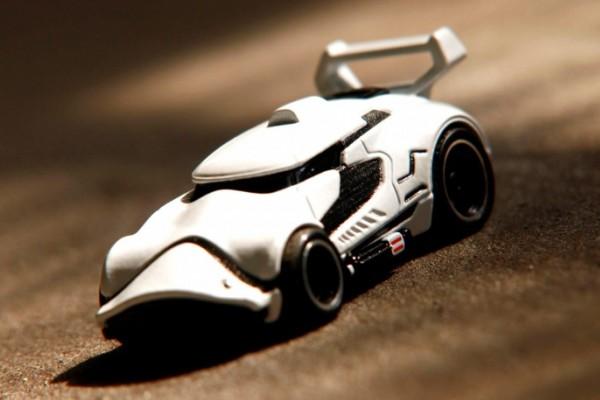 Hot Wheels Stormtrooper car