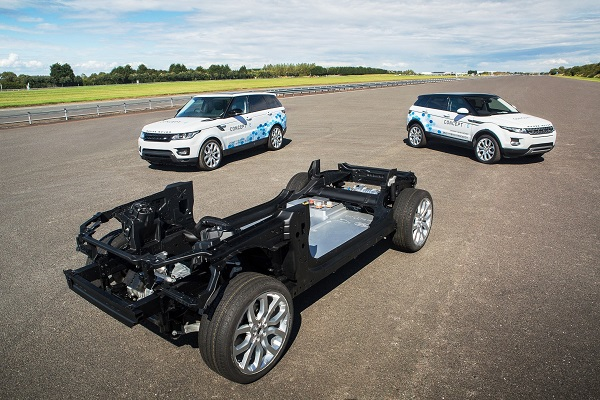 Land Rover Alternative Powertrain Concepts