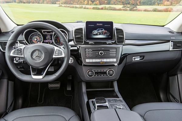 Mercedes GLE 450 AMG 4Matic interior