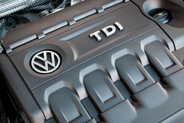 2015 Volkswagen Golf TDI engine