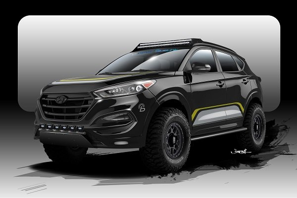 Used Cars Tucson >> Rockstar and Hyundai Team Up on an Off-Road-Ready Tucson ...