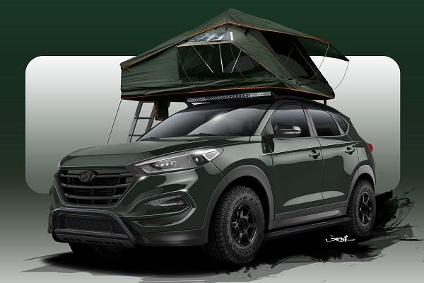 2016 Hyundai Tucson SEMA
