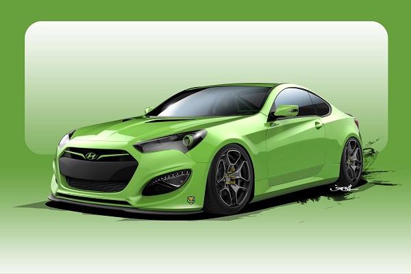 TJIN Edition Hyundai Genesis